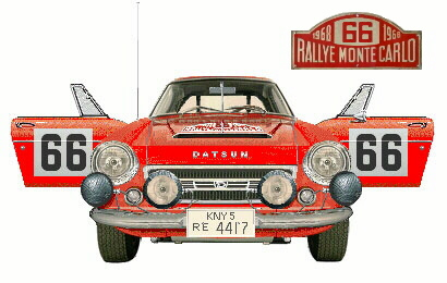 Hannu Mikkola's 1968 Monte Carlo 2000