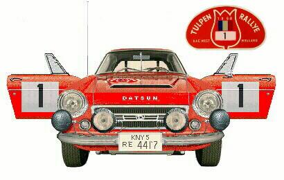 1968 Tulip Rally