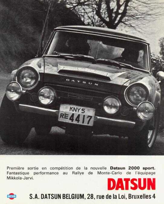 Datsun Racing Team - Delta Raceway - 1968