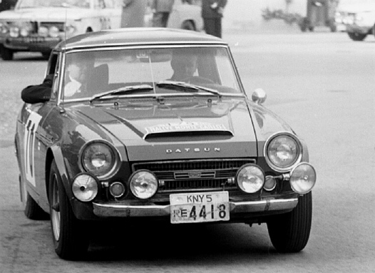 Jorma Lusenius - 1968 Rallye Monte Carlo