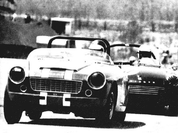 Bob Sharp - Triumph Spitfire