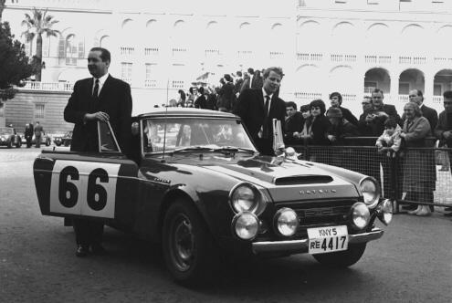 Rallye Monte Carlo 1968 - presentation