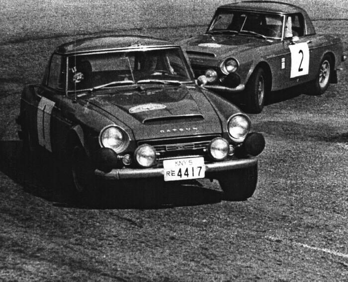 1968 Tulpen Rallye - the 2 Datsuns