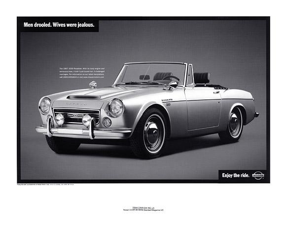 a breakdown of the 1967 datsun 2000 model roadster inshare0